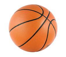 ballon pour le match de basket-ball isoler photo