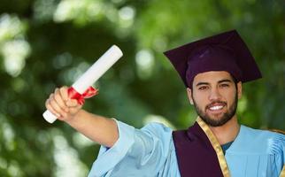l'obtention du diplôme photo