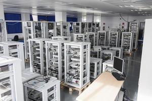 centre de données photo