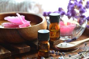 traitement d'aromathérapie photo