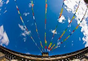drapeaux de prières - tiber photo