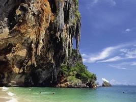 la plage thaïlande krabi photo
