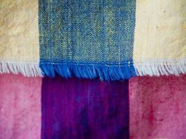 tissu thaï natif photo