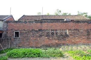 terres arables et village photo
