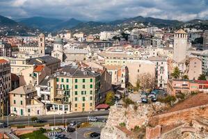 savona, italie, repère de voyage photo