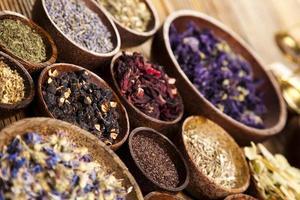 médecine naturelle, herbes photo