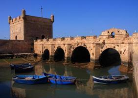 maroc, essaouira, site du patrimoine mondial de l'unesco. photo