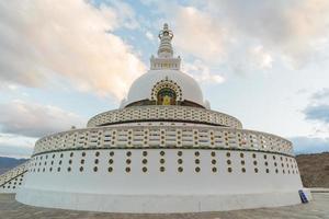 shanti stupa, leh ladakh.