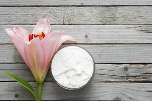 Crème hydratante photo