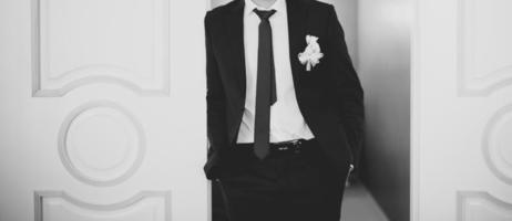 marié caucasien. photo