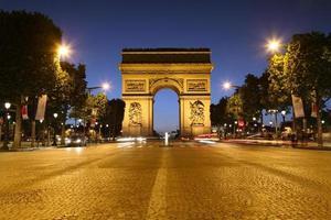 arc de triomphe, paris photo