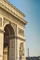 arc de triomphe à paris photo