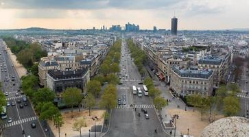 Paris skyline photo