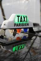 taxi parisien photo