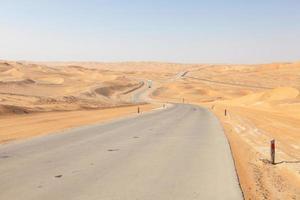 station balnéaire du désert photo