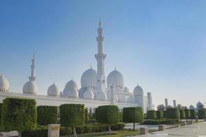 mosquée cheikh zayed photo