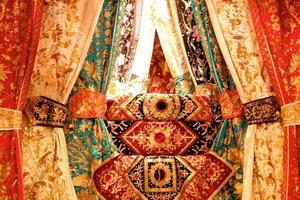 décoration de mariage traditionnel indonésien photo