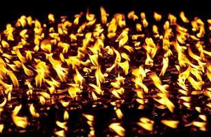 bougies au temple de boudhanath photo