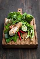 herbes asiatiques et épices