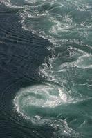 turbulence de l'eau de saltstraumen photo