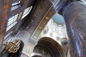 Intérieur de la cathédrale Uspensky à Helsinki photo