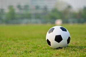 terrain de football photo