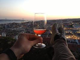 cheers, lisbonne! photo