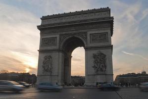 monument de l'arc de triomphe photo