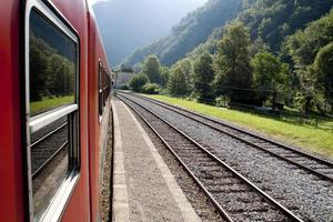 voyage en train photo