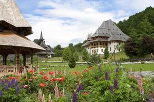 monastère de barsana, roumanie, maramures photo