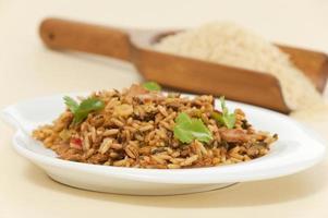 arroz con pollo photo