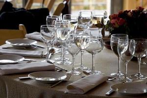 réglage de la table # 1 photo