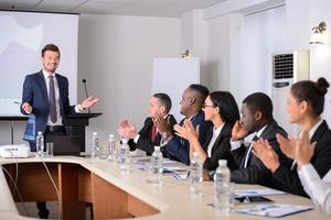 conférence d'affaires photo