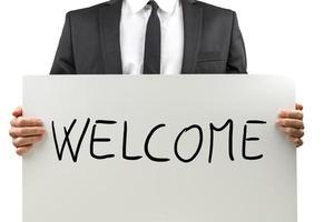 signe de bienvenue