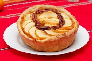 tarte aux noix et coings photo