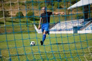 joueur de football photo