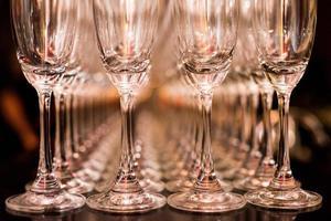 verres de champagne photo