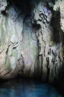 dans la grotte bleue photo