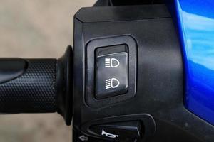 le bouton de l'interrupteur photo