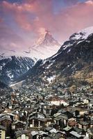 Zermatt et Matterhorn photo