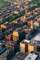 vue aérienne de la ville urbaine photo