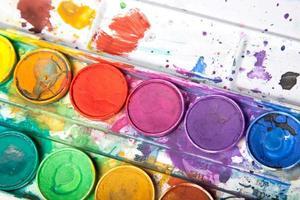 couleurs vives pour l'aquarelle