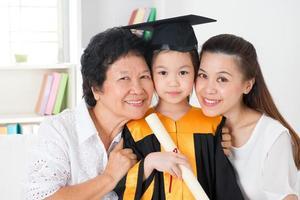 diplômé de la maternelle