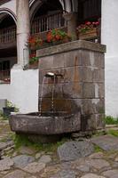 Fontaine d'eau potable photo