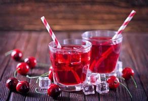boisson aux cerises photo