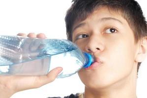 boire l'eau photo