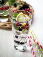 boisson de désintoxication aux baies