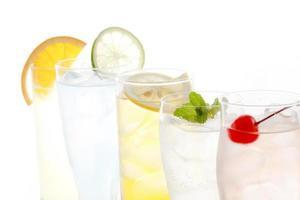boisson froide à la mode photo