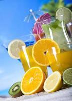 boissons alcoolisées exotiques photo