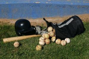 cluster de baseball photo